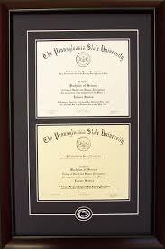 diploma frames penn state diploma frames frame shop