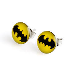 batman earrings batman earrings jewelery jewellery accesories accessories