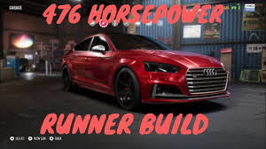 build audi s5 need for speed payback customization audi s5 sportback runner