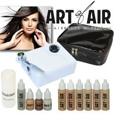 special effects airbrush makeup of air professional airbrush cosmetic makeup kit fair to