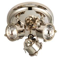 Spotlight Ceiling Light Cayley Nickle Effect 3 L Ceiling Spotlight Ceiling Spotlights