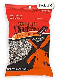 bacon sunflower seeds dutchman sunflower seeds flamin bacon 5 5 oz