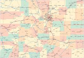 New Mexico Map With Cities And Towns by Colorado Road Map Co Road Map Colorado Highway Map