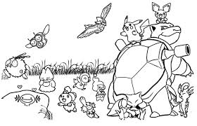 pokemon coloring pages pikachu coloring pages 3339