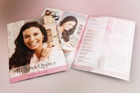 Funeral Programs Printing Glamour Funeral Program Tabloid Publisher Template Is A Large
