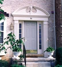 Exterior Door Pediment And Pilasters by Alternative Trim The Power Of Plastics Extreme How To
