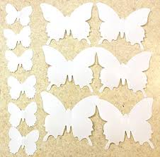 Butterfly Office Decor Blaydessales Butterfly Wall Art Pack Of 24 White Butterfly Wall
