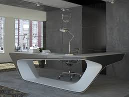 Grey L Shaped Desk by Futuristic L Shaped Desk For Modern Workspaces Digsdigs