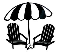 Beach Umbrella And Chairs Beach Chairs Umbrellas Clipart 31
