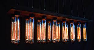 chandelier gorgeous edison bulb chandelier brushed nickel