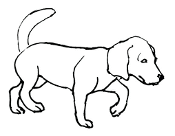 Dog Coloring Pages Coloring Pages Of A Dogs Free Cute Dog Coloring Dogs Coloring Pages