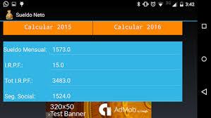 como calcular el sueldo neto mexico 2016 sueldo neto apps en google play