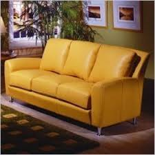 Leathers Sofas Yellow Leather Sofas Foter