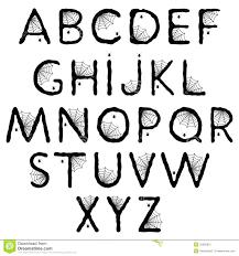 spider printable paper spiderman stencil alphabet letters