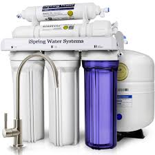 Water Filter Systems For Kitchen Sink Ispring Wqa Gold Seal 5 Stage With Superior Quality Filter 75gpd