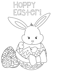 easter bunny coloring pages hard coloringpage pictures