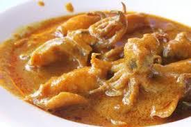 cuisiner le calamar curry de calamar recettes de cuisine indienne