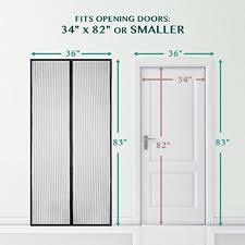 Sliding Patio Door Screens Amazon Com Magnetic Screen Door Bearmoo Updated Sticky Design