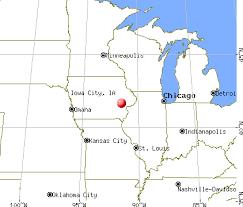 iowa map with cities iowa city iowa ia 52242 52245 profile population maps