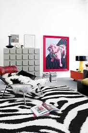 Zebra Print Room Decor Zebra Area Rugs Shop