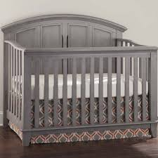 Grey Convertible Crib westwood jonesport collection convertible crib in cloud