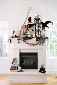 terrific fireplace halloween design inspiration identify