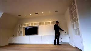 bathroom knockout bespoke built media unit ins around fireplace
