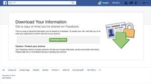 Your Facebook Friends Could Learn A Lot From Bill - how to see everything facebook knows about you but be warned it