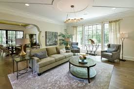 Model Home Living Room by Custom Model Homes In Medina Ohio Old World Classics