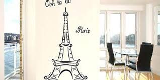 Wall Decor Eiffel Tower Tower Wall Decals For The Bedroom Eiffel