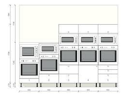 cuisine taille hauteur standard meuble cuisine fabulous dimension meuble de