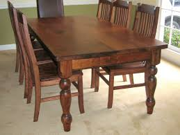 luxury walnut dining room table and chairs 40 in dining table set