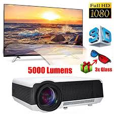 3d home theater projector 5000 lumens full hd 1080p led lcd 3d home theater projector cinema