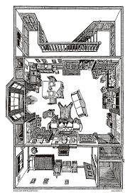 221b baker street floor plan 221b baker street floorplan of sherlock holmes apartment in