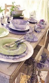 el estilo shabby chic aplicado en la cocina lavender