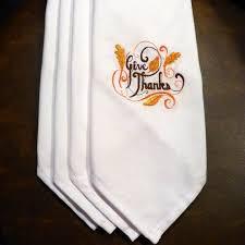 thanksgiving dinner napkins thanksgiving napkins embroidered cloth napkins cloth napkins