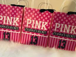 pink gift bags s secret pink inspired favor gift bags pink