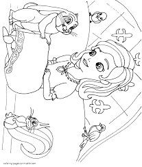 disney sofia coloring pages