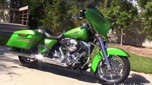 2015 harley davidson street glide radioactive green new paint