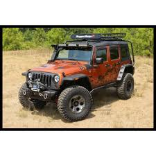 jeep wrangler unlimited flat fenders jeep parts buy rugged ridge hurricane flat fender flares for 07