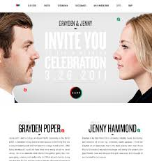 20 beautiful wedding invitation website designs hongkiat