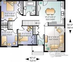 Large Bungalow Floor Plans House Plan W3130 Detail From Drummondhouseplans Com