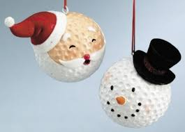 ornaments from golf balls because suddenly i find myself
