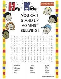 free printable bullying worksheets worksheets releaseboard free