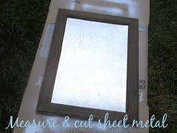 diy how to turn a cabinet door into a magnetic memo board