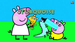 peppa pig paint colour games peppa pig painting games