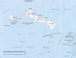 Map Turkey Map Turkey And Caicos Islands Country Map Turkey And Caicos Islands