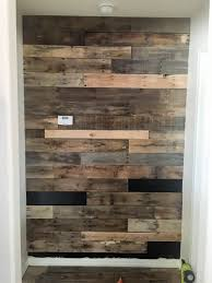 wood pieces for walls how to install a pallet wall the easy way addicted 2 diy