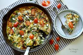 Spinach Quiche With Cottage Cheese by Chicken Spinach Frittata With Feta U0026 Tomatoes