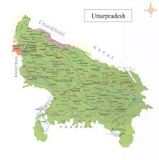 India Population Map by About Uttar Pradesh Map Of Uttar Pradesh Festivals Of Uttar